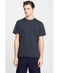 Rag & Bone | Blue Standard Issue 'moulinex' Crewneck T-shirt for Men | Lyst