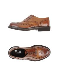Baseblu - Brown Lace-Up Shoes for Men - Lyst