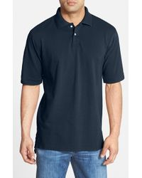 Bills Khakis | Blue Supima Pique Polo for Men | Lyst
