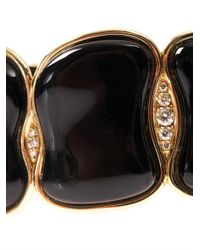 Fernando Jorge - Black Diamond, Chalcedony & Gold Bracelet - Lyst