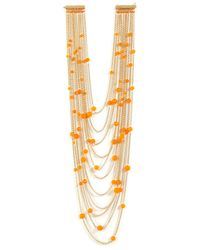 Rosantica - Galassia Necklace with Orange Agate - Lyst