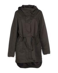Vero Moda - Green Full-length Jacket - Lyst