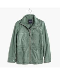 Madewell | Green Fleet Jacket | Lyst