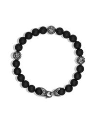 David Yurman | Spiritual Beads Bracelet With Black Onyx, 8mm for Men | Lyst