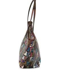 Fendi | Multicolor Multi Color Zucca Jacquard Shopping Tote | Lyst