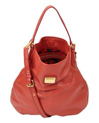 Marc By Marc Jacobs | Red Classic Q49 Hillier Hobo Bag | Lyst