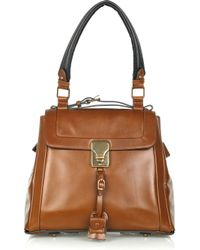 Chloé | Brown Darla Leather Tote | Lyst