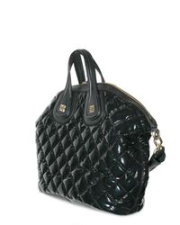 Givenchy - Black Vinyl and Nappa Nightingale Top Handle - Lyst