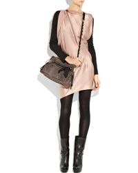 Lanvin | Gray Amalia Medium Python Bag | Lyst