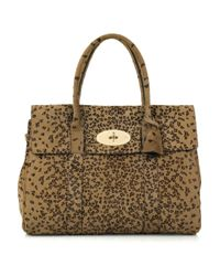 Mulberry | Multicolor Bayswater Leopard-print Bag | Lyst