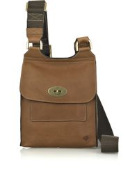Mulberry | Brown Antony Leather Cross-body Bag | Lyst