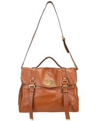 Mulberry | Brown Oversized Alexa Tote Bag | Lyst