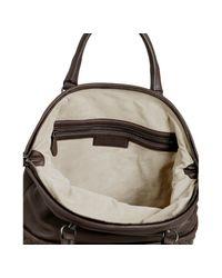 Bottega Veneta - Dark Brown Buttersoft Leather Bowler Bag - Lyst