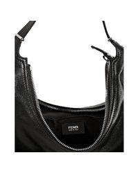 Fendi - Black City Leather Hobo Bag - Lyst