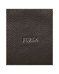 Furla - Dark Brown Pebble Leather Salome Hobo - Lyst