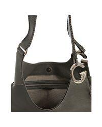 Gucci | Gray Grey Leather Charlotte Medium Shoulder Bag | Lyst