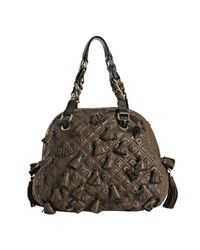 Marc Jacobs - Brown and Green Leather Dancer Tassel Bag - Lyst