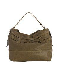 Rebecca Minkoff | Green Olive Leather Devote Shoulder Bag | Lyst