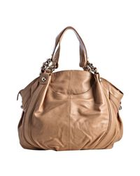 Sondra Roberts - Natural Leather Roberta Rounded Shoulder Bag - Lyst