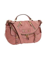 Alexander McQueen | Pink Faithful Medium Polished-leather Satchel | Lyst