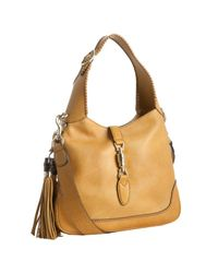Gucci | Yellow Leather New Jackie Small Hobo | Lyst