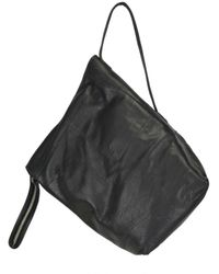 Rick Owens | Black Leather Shoulder Bag | Lyst