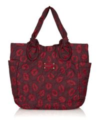 Marc By Marc Jacobs | Purple Lip Print Tote Bag | Lyst