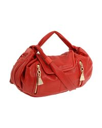 See By Chloé | Red Large Tassel Cross-body Bag | Lyst