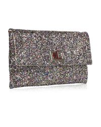 Anya Hindmarch | Pink Valorie Glitter Clutch | Lyst