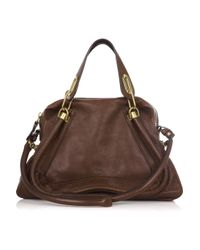 Chloé | Brown Large Paraty Bag | Lyst