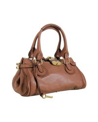 Chloé | Brown Paddington Classic Shoulder Bag | Lyst