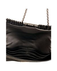 Dior | Black Patent Leather New Lock Perforated Shoulder Bag | Lyst
