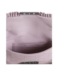 Dior | Pink Leather New Lock Perforated Shoulder Bag | Lyst