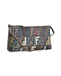 Fendi | Multicolor Multi Color Zucca Jacquard Mi Shoulder B | Lyst