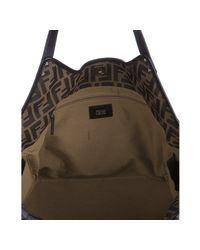 Fendi | Brown Monogrammed Bag | Lyst