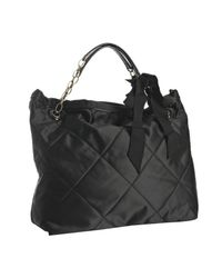 Lanvin | Black Amalia Leather Tote | Lyst