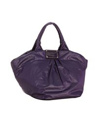 Marc By Marc Jacobs | Purple Grape Juice Nylon Q Mabel Tote Bag | Lyst