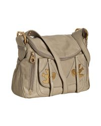 Marc By Marc Jacobs - Brown Taupe Lambskin Petal To The Metal Natasha Small Bag - Lyst