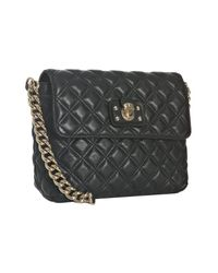 Marc Jacobs | Black Quilted Leather Bag | Lyst