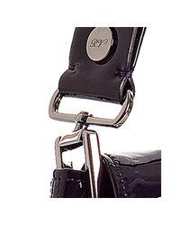 Roger Vivier | Purple Violet Patent Leather Small Flap Shoulder Bag | Lyst