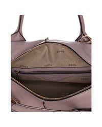 Tod's - Purple Lilac Calfskin D-bag Boston Bag - Lyst