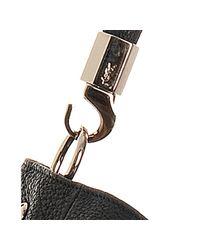 Saint Laurent | Black Buffalo Leather Sac Y Now Hobo | Lyst