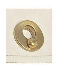 Saint Laurent | White Ivory Leather Muse Two Medium Bag | Lyst