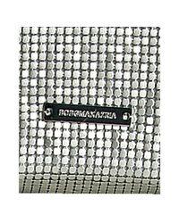 BCBGMAXAZRIA - Metallic Silver Metal Mesh Crossbody Shoulder Bag - Lyst