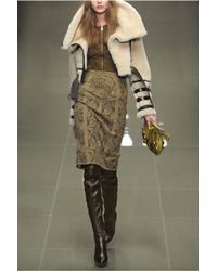 Burberry Prorsum Black Leather Thigh-high Boots