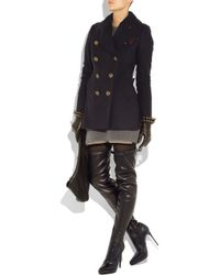 Burberry Prorsum | Black Leather Thigh-high Boots | Lyst