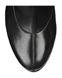 Christian Louboutin Black Unique 140 Leather Boots