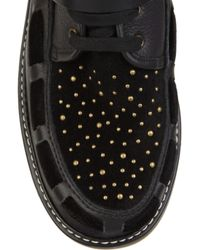 See By Chloé Black Studded Buckle Boot