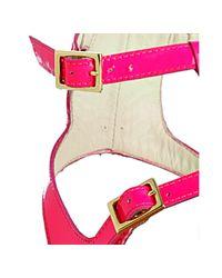 Bettye Muller - Pink Fuchsia Patent Circuit Gladiator Sandals - Lyst