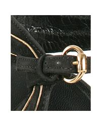 Gucci | Black Suede Kelly Platform Sandals | Lyst
